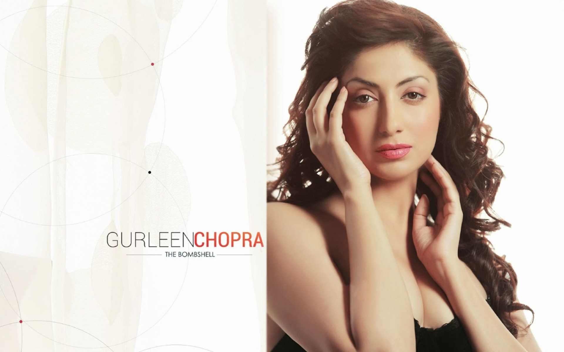 Indian Actress Gurleen Chopra HD Wallpaper