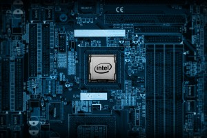 Intel Chip Wide Wallpaper