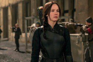 Jennifer Lawrence Katniss HD Wallpaper