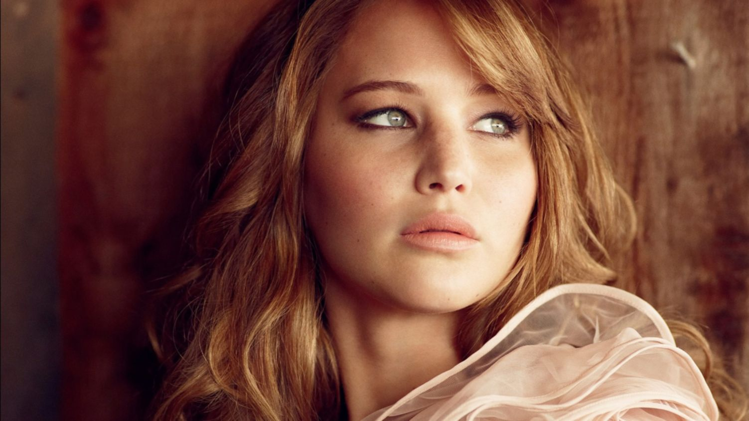 Download free HD Jennifer Lawrence Sweet 1366×768 Wallpaper, image