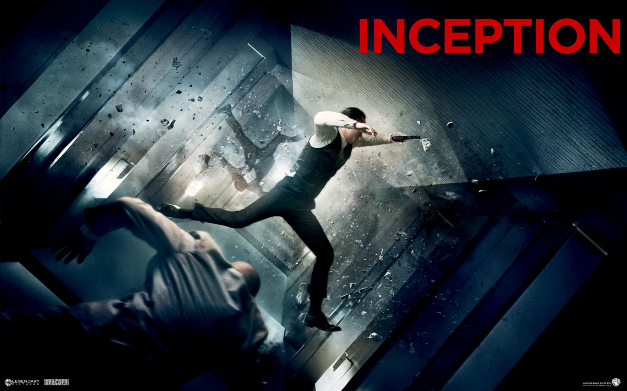 Download free HD Joseph Gordon Levitt in Inception Wide Wallpaper, image