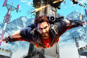 Just Cause 3 Rico Wingsuit Wide Wallpaper