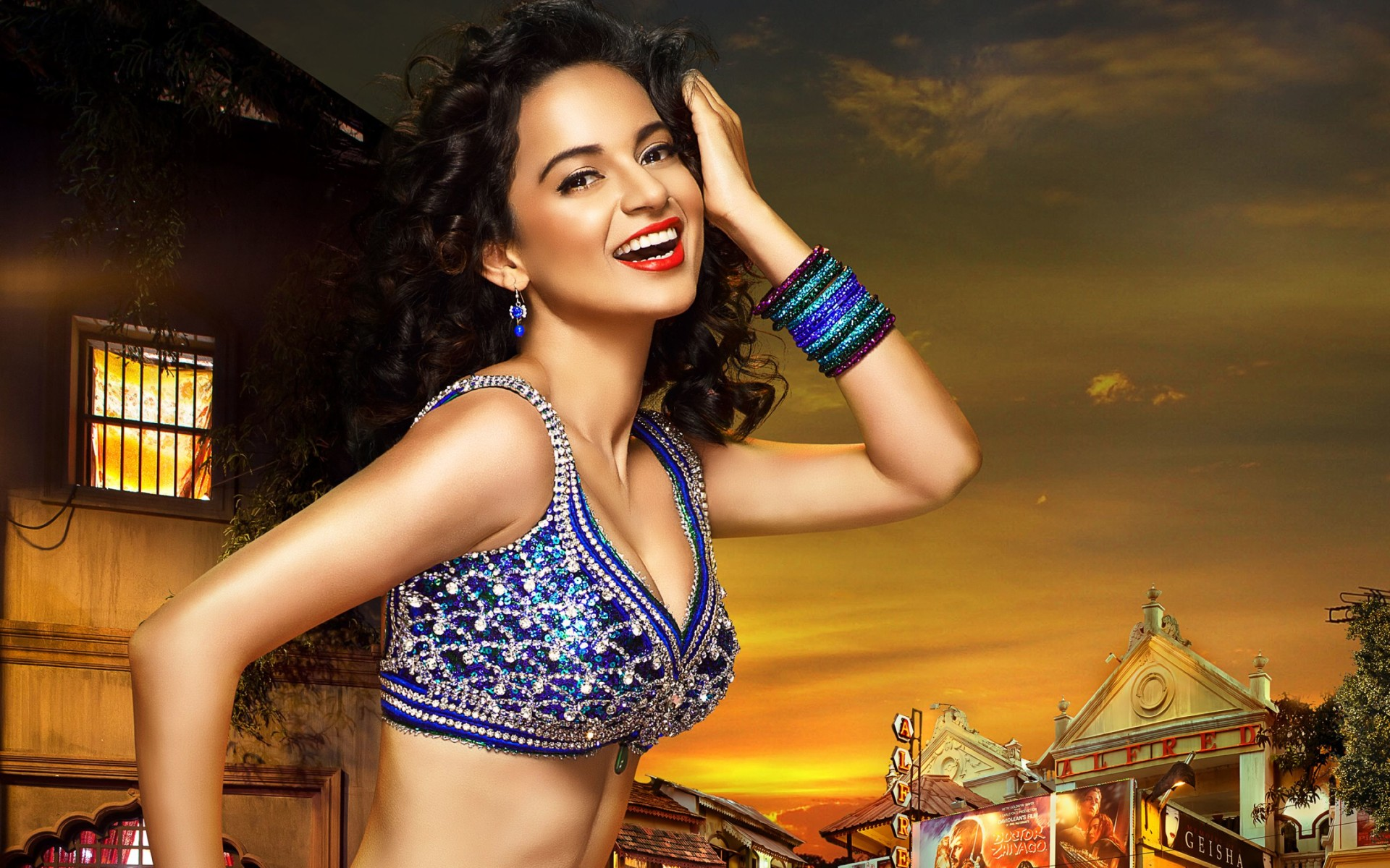 Kangna Ranaut In Rajjo Wide Wallpaper