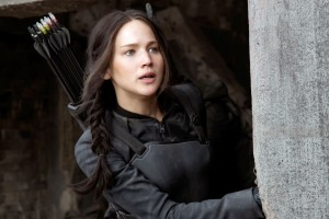 Katniss Hunger Games Jennifer Lawrence HD Wallpaper