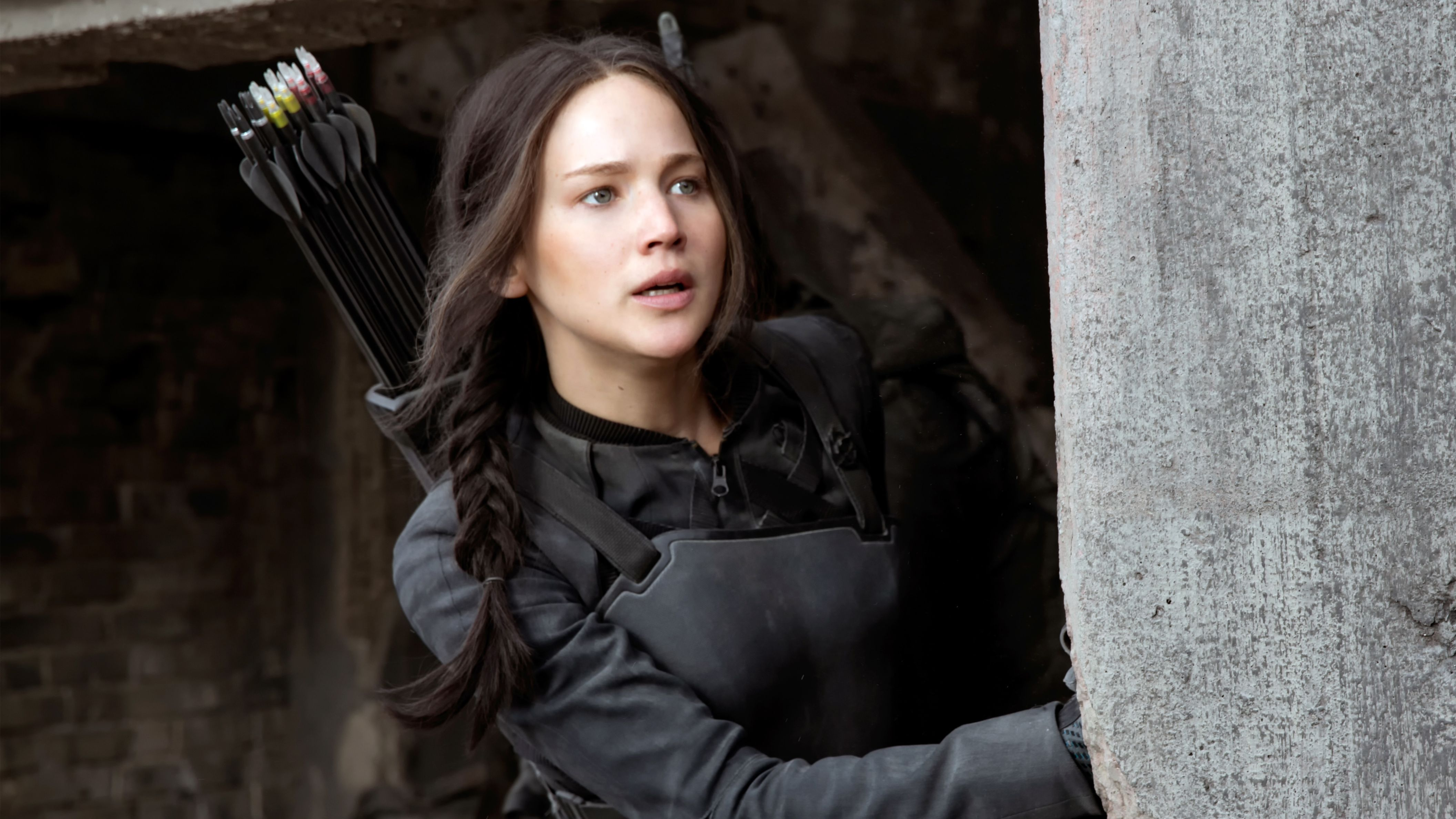 Download free HD Katniss Hunger Games Jennifer Lawrence HD Wallpaper, image