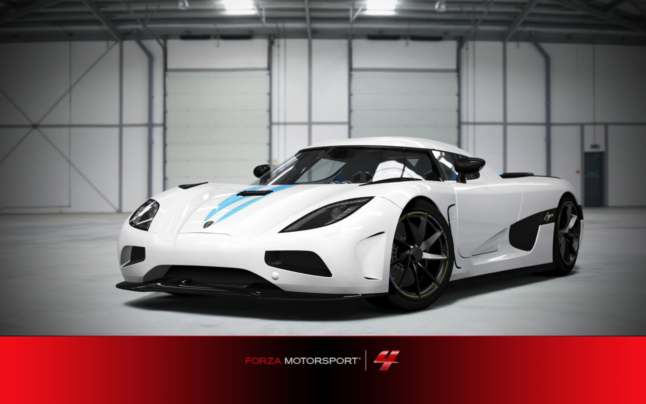Download free HD Koenigsegg In Forza Motorsport 4 Wide Wallpaper, image