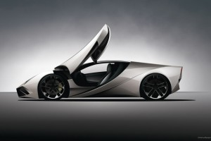 Lamborghini Concept 2 Wide Wallpaper
