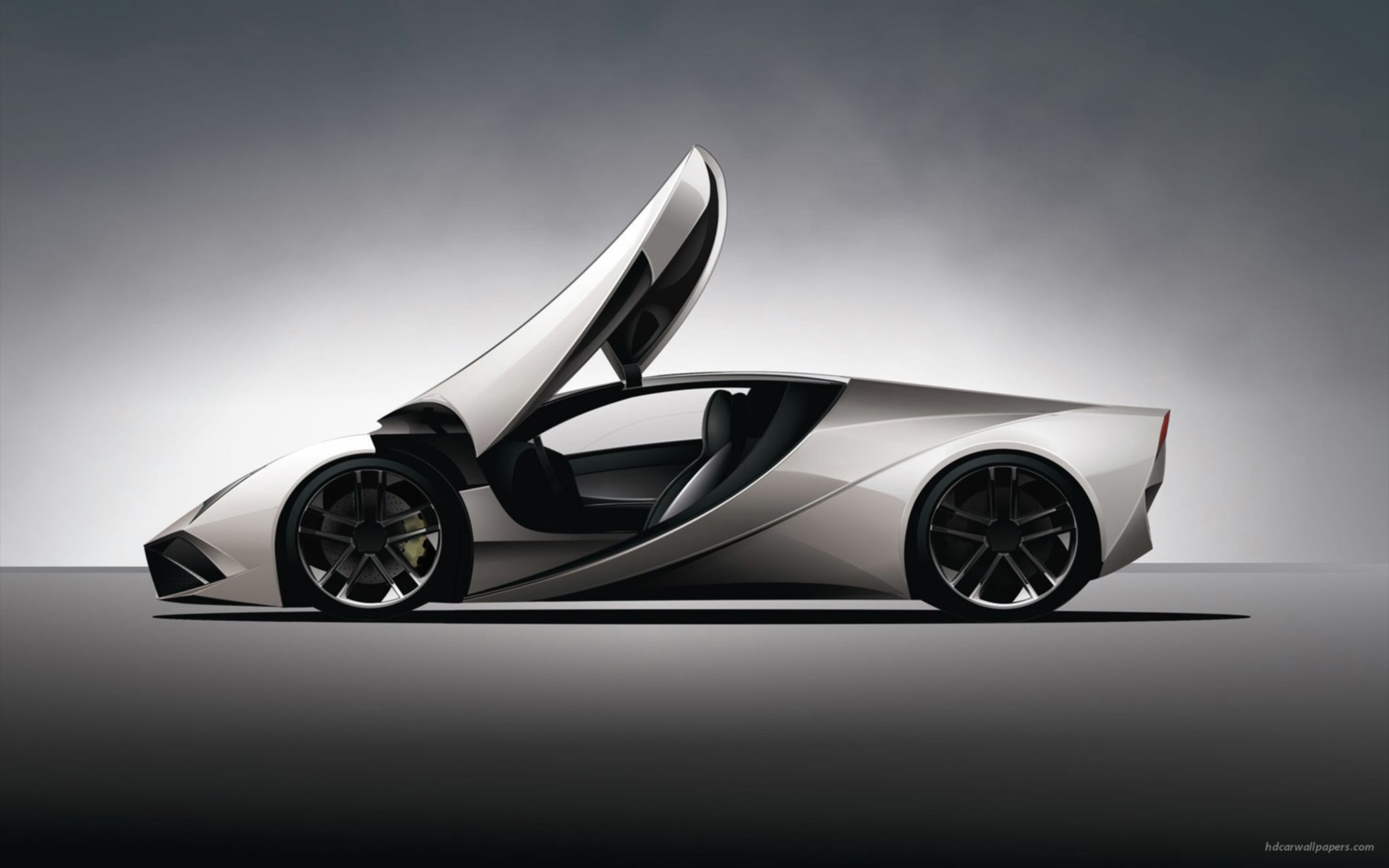 Download free HD Lamborghini Concept 2 Wide Wallpaper, image