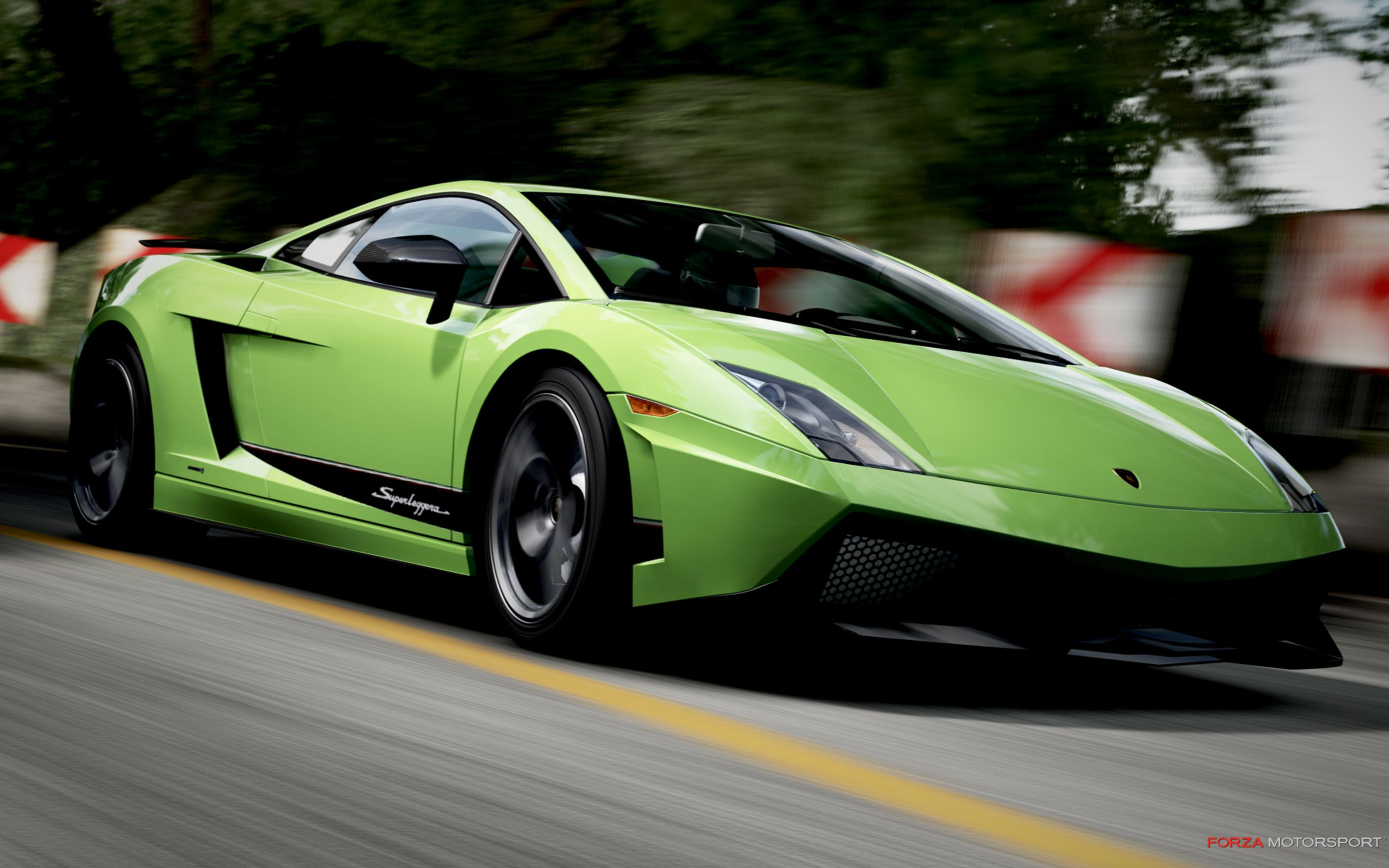 Download free HD Lamborghini Gallardo In Forza Motorsport 4 Wide Wallpaper, image