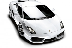 Lamborghini Gallardo LP In White Normal Wallpaper