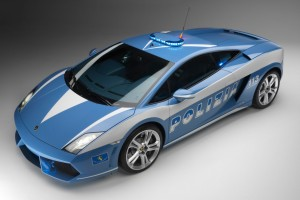 Lamborghini Gallardo Polizia Normal Wallpaper