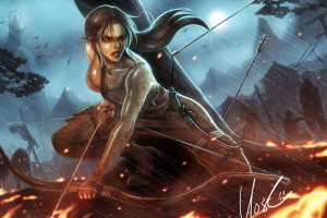 Lara Croft Tomb Raider Reborn HD Wallpaper