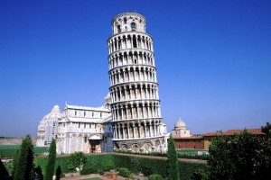 Leaning Tower of Pisa Architecture Wallpaper