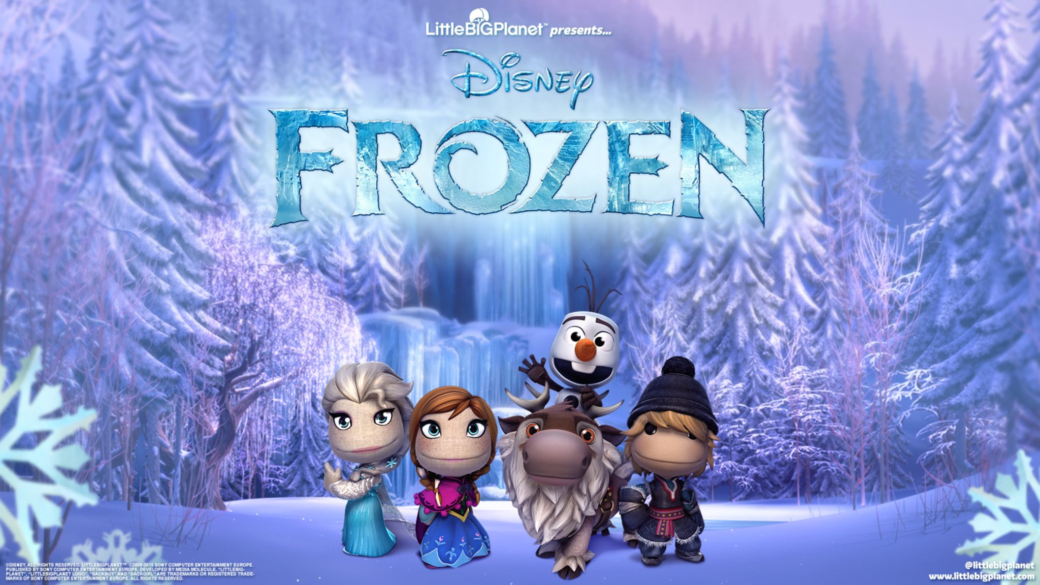 Download free HD Littlebigplanet 3frozen HD Wallpaper, image