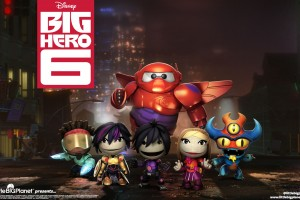 Download Littlebigplanet Big Hero 6 Wide Wallpaper Free Wallpaper on dailyhdwallpaper.com