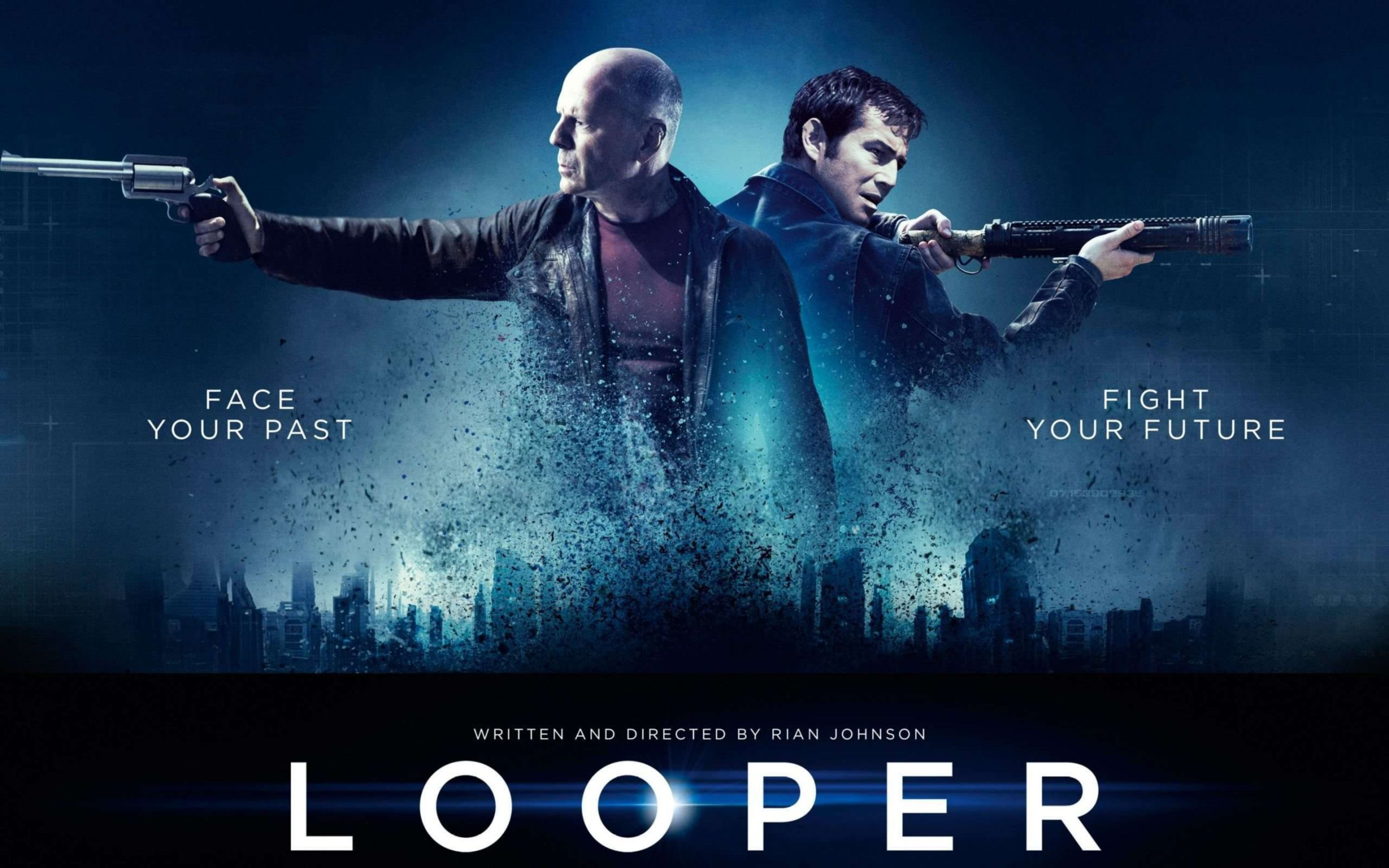 Download free HD Looper Movie Widescreen Wallpaper, image