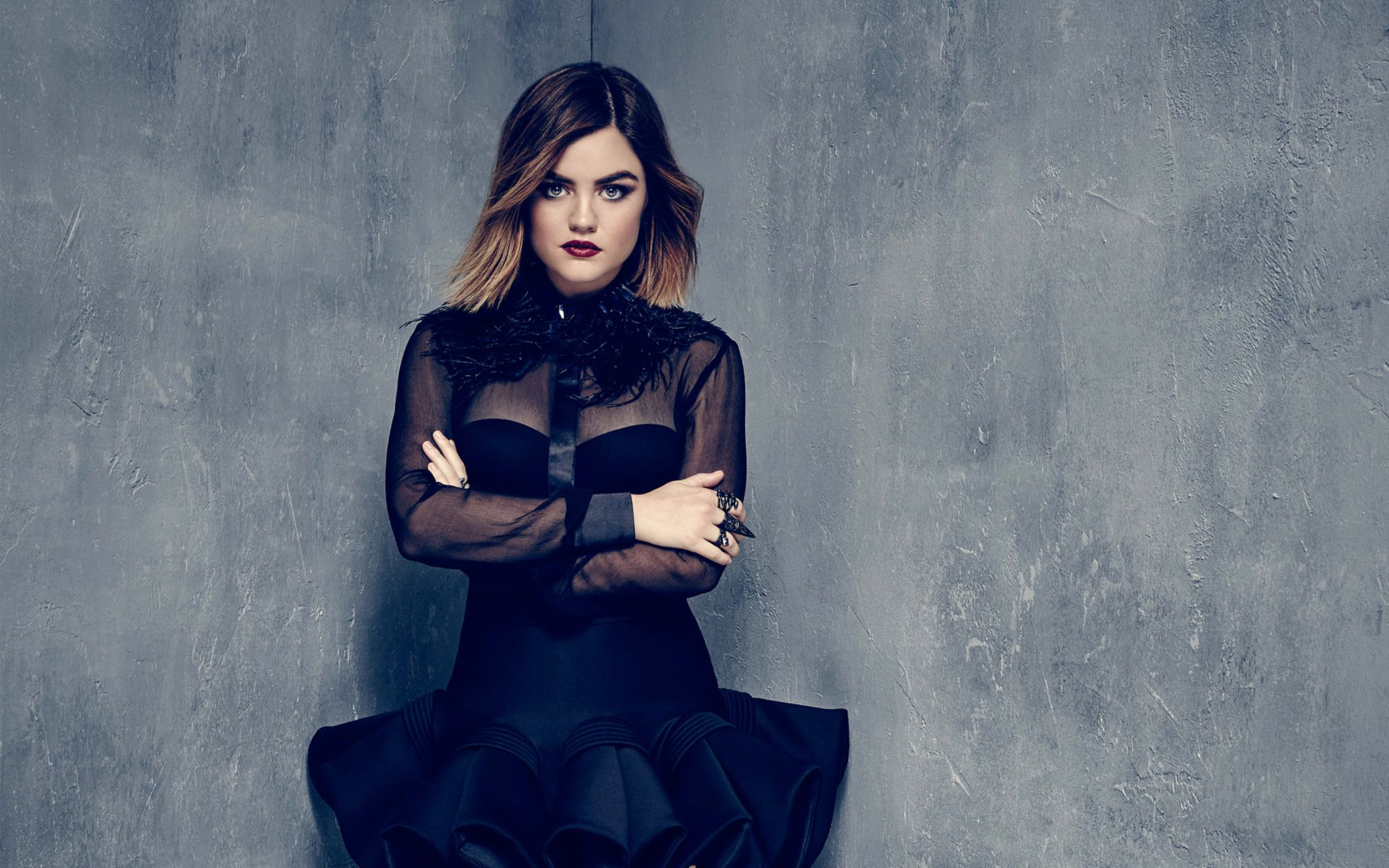 Download free HD Lucy Hale 2016 Wide Wallpaper, image