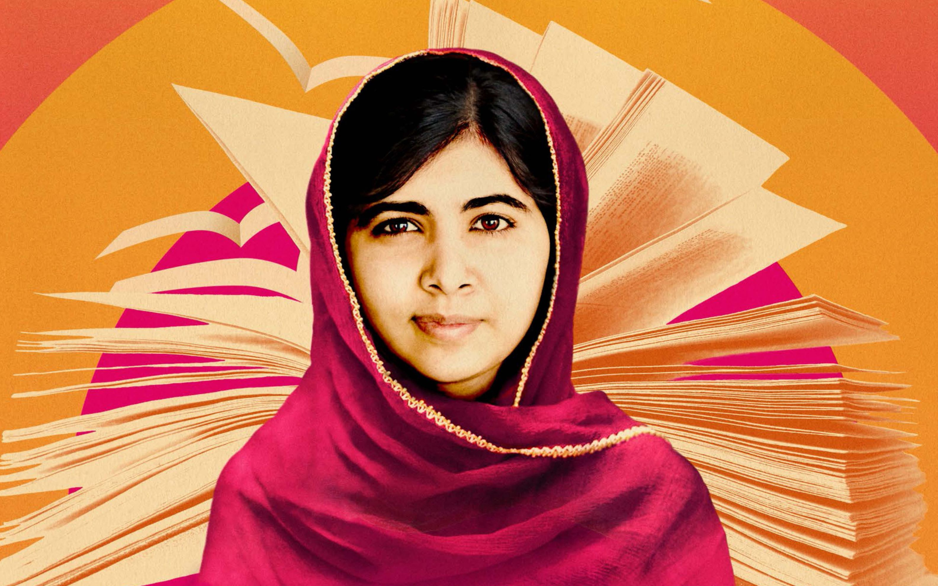 Download free HD Malala Yousafzai Wide Wallpaper, image