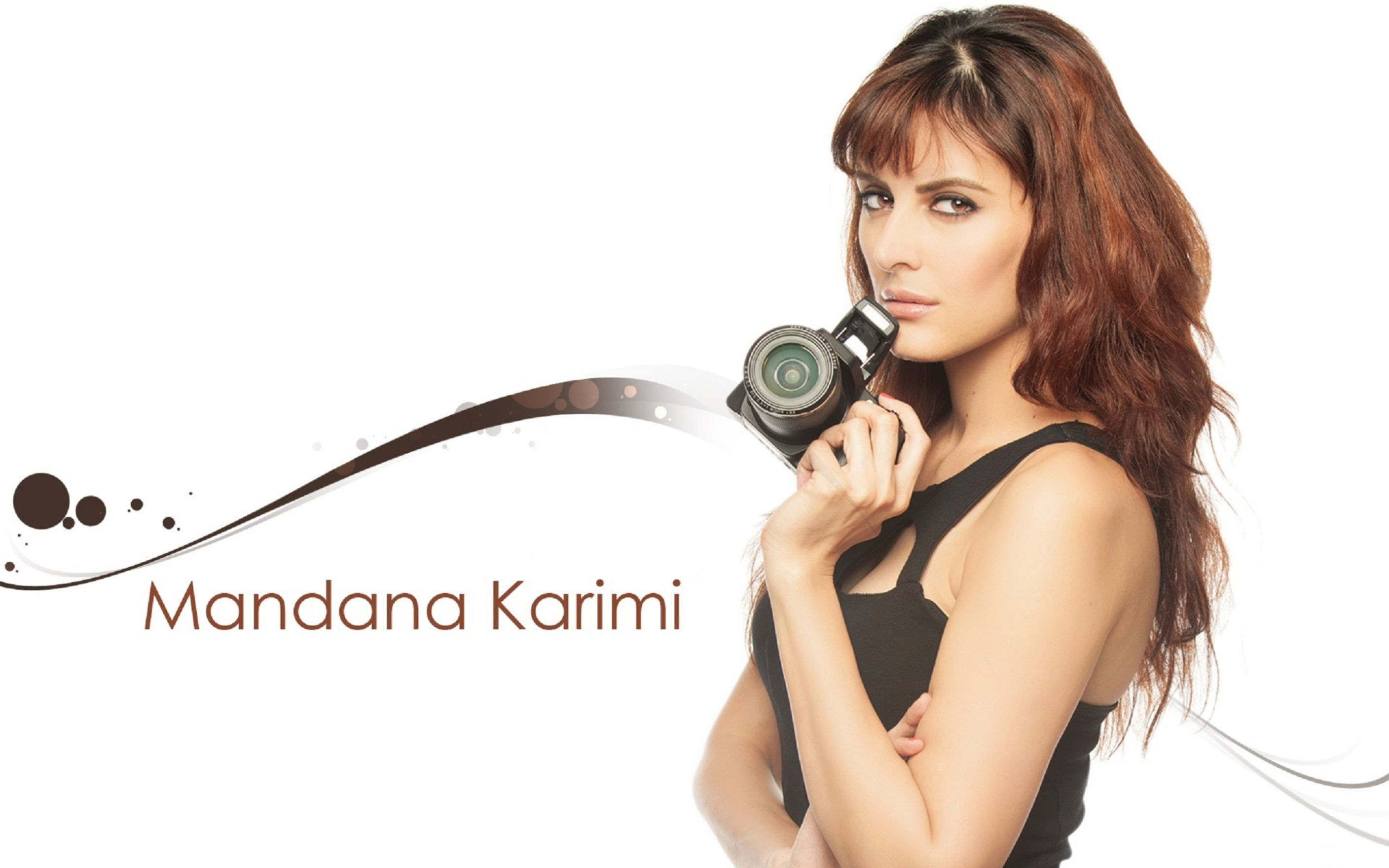 Download free HD Mandana Karimi Beautiful HD Wallpaper, image