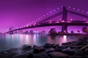 Manhattan Bridge London City for PC Wallpaper