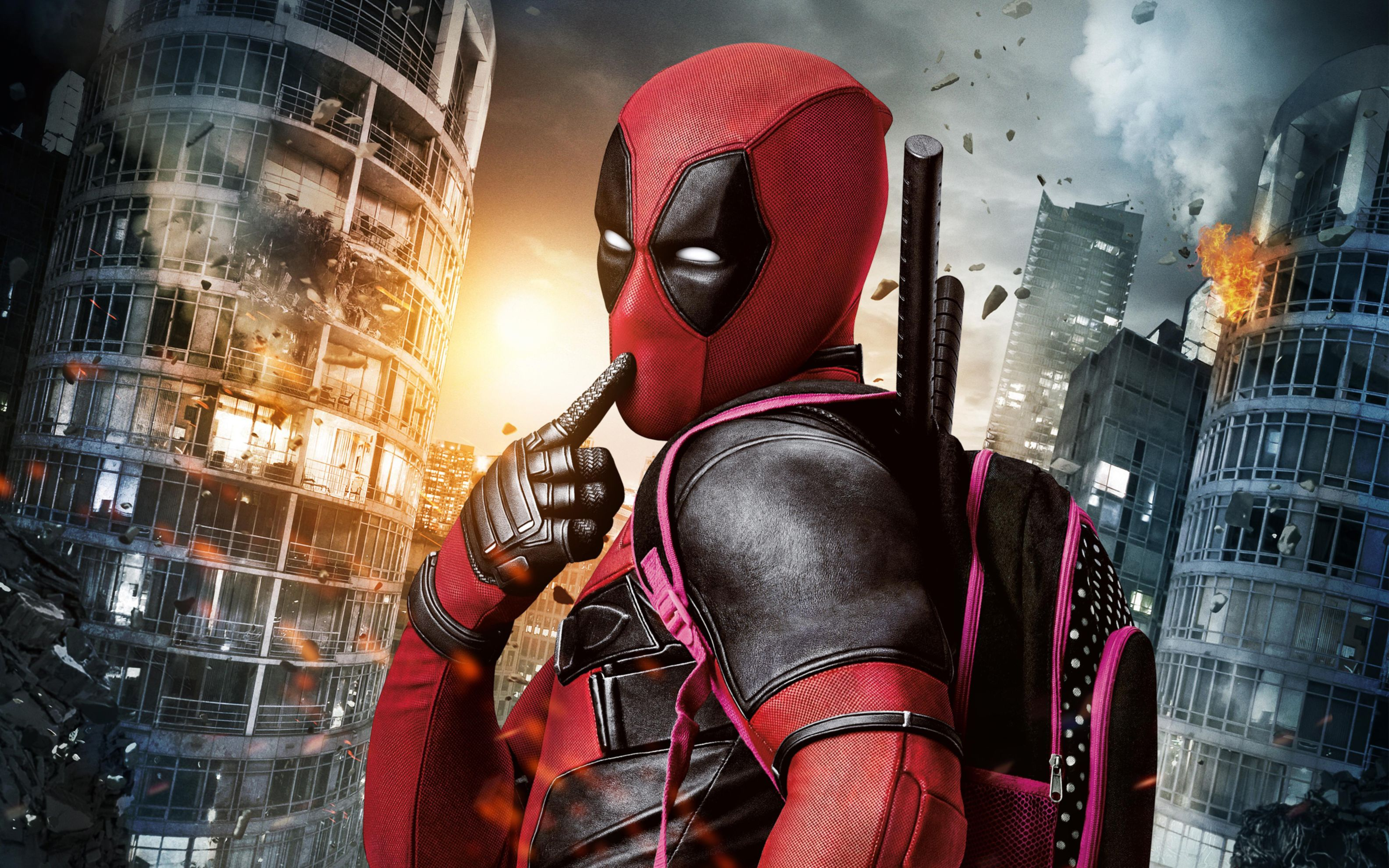 Download free HD Marvel Deadpool Movie Wide Wallpaper, image