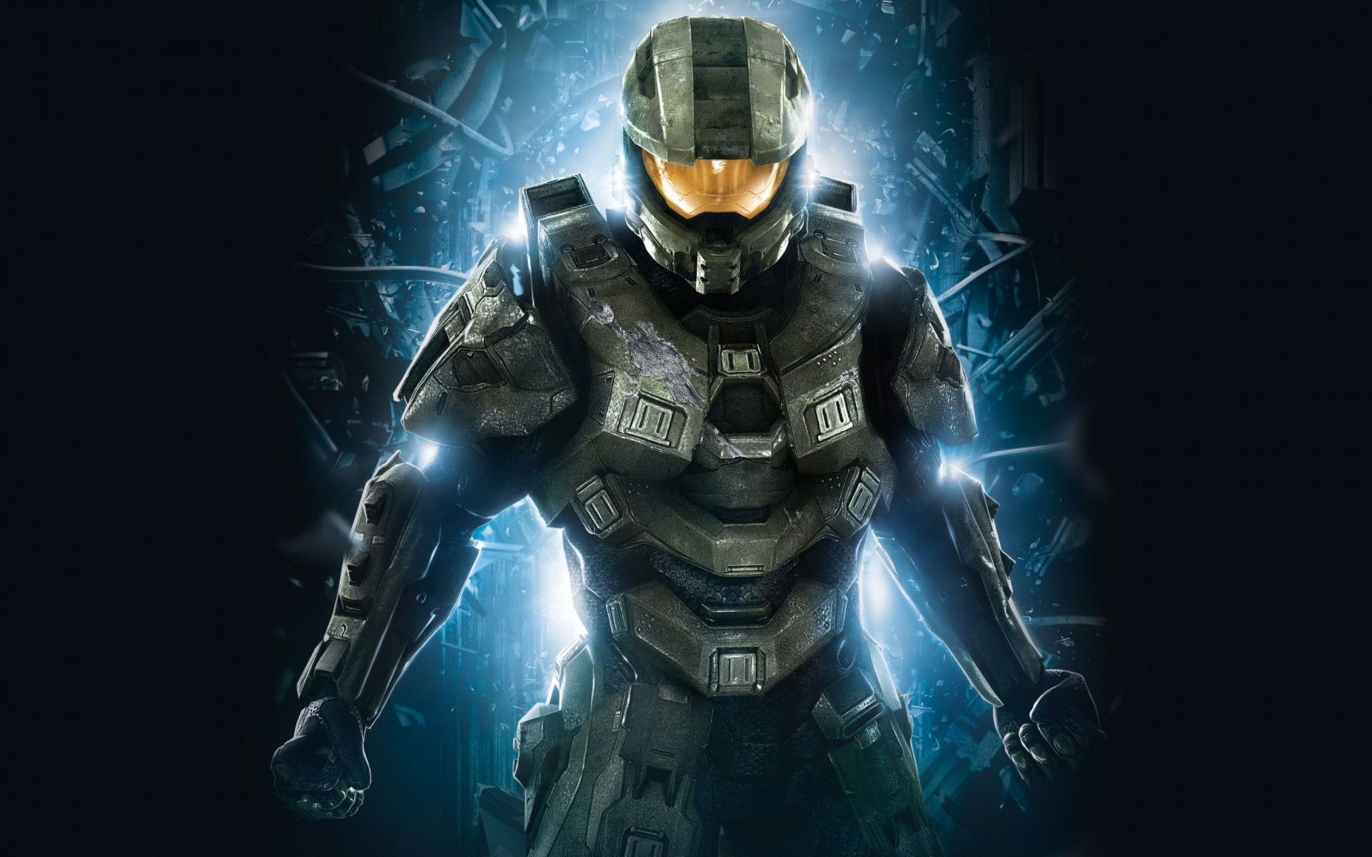 Master Chief in Halo 4 Wide Wallpaper
