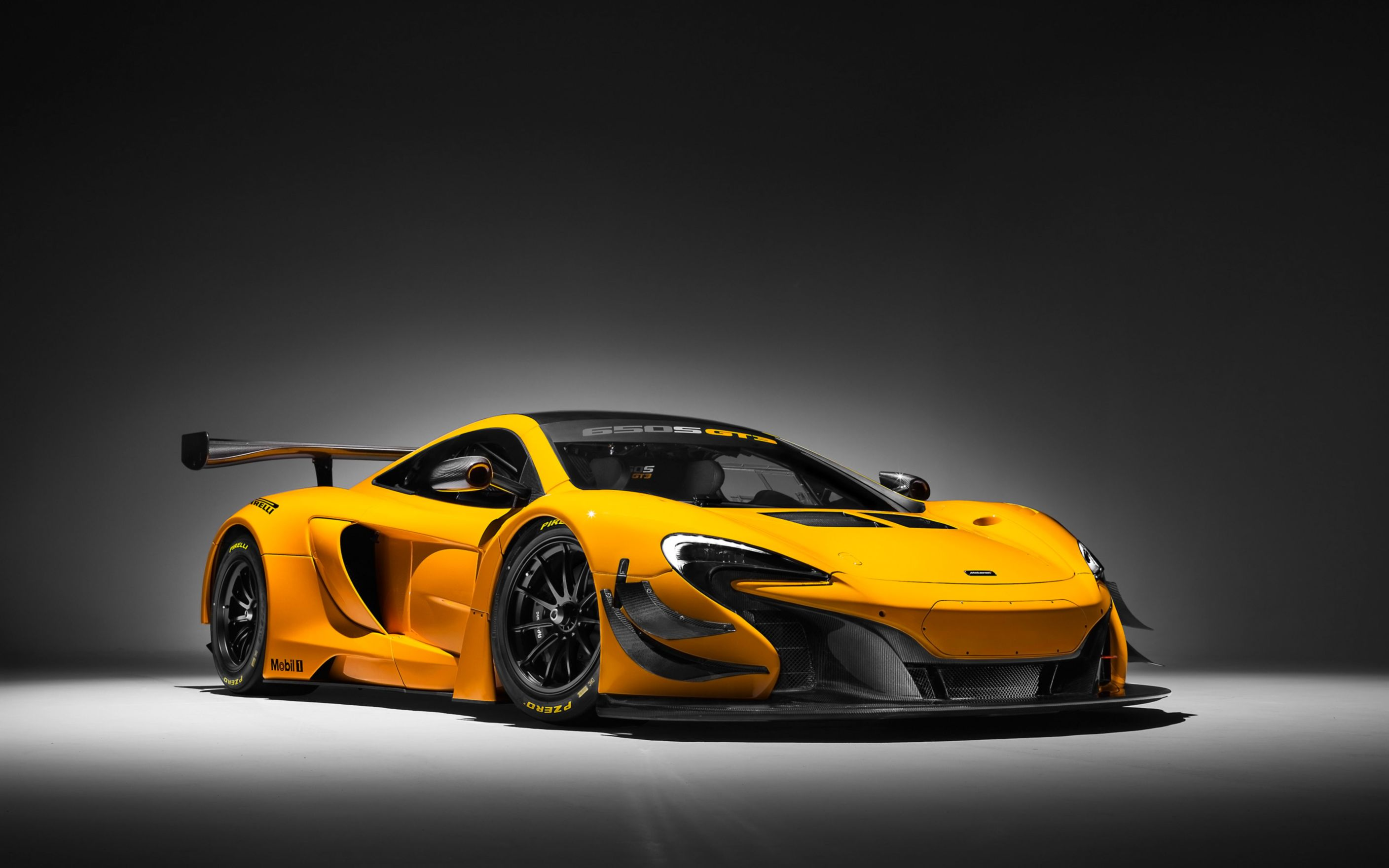 Download free HD Mclaren 650s GT3 2016 Wide Wallpaper, image