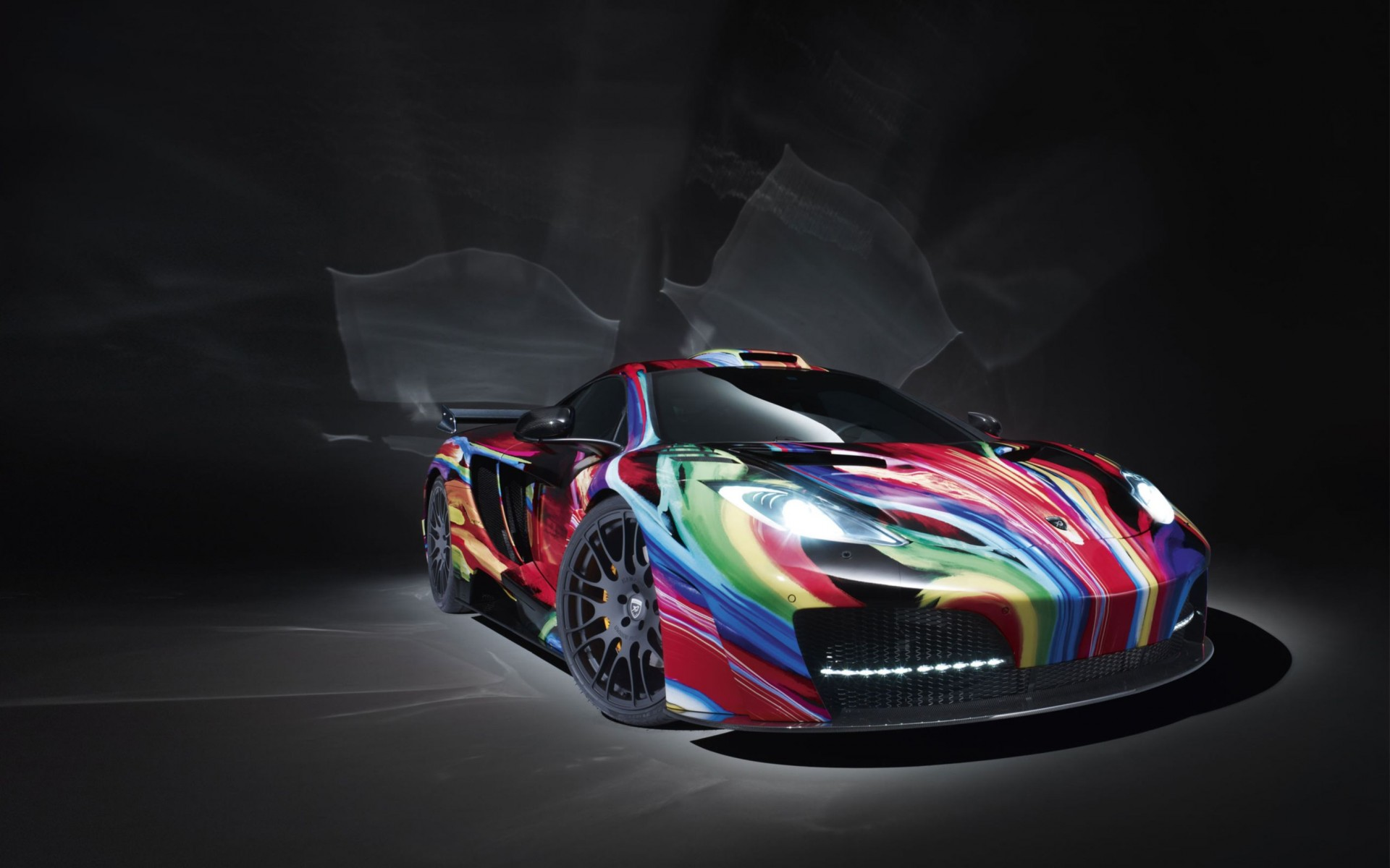 Mclaren Mp4 12c Art Car Hamann Wide Wallpaper