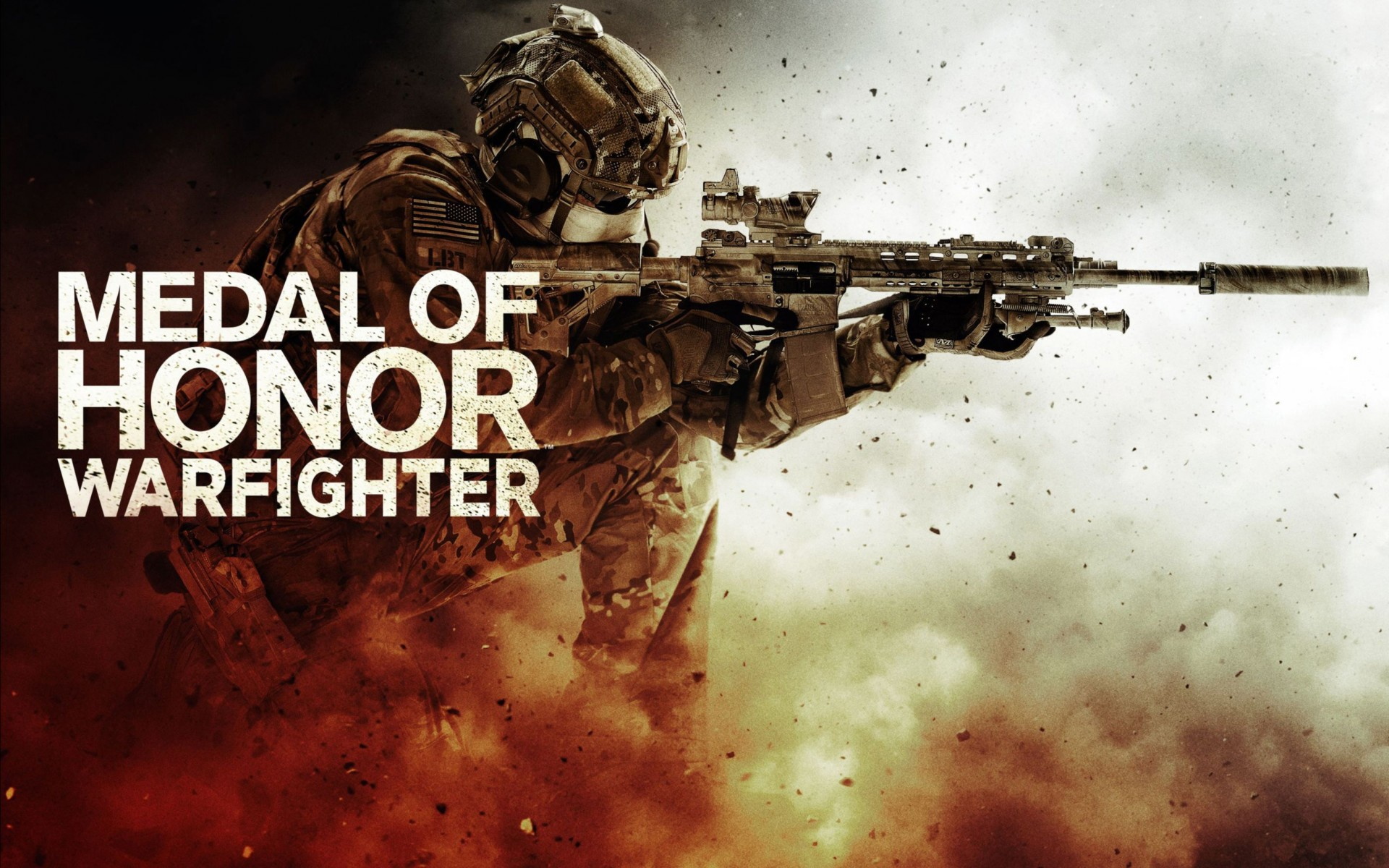Medal of Honor Warfighter Game Wide Wallpaper