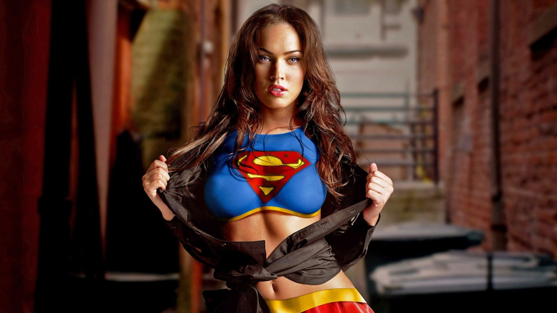 Megan Fox Supergirl Original 1080p Wallpaper