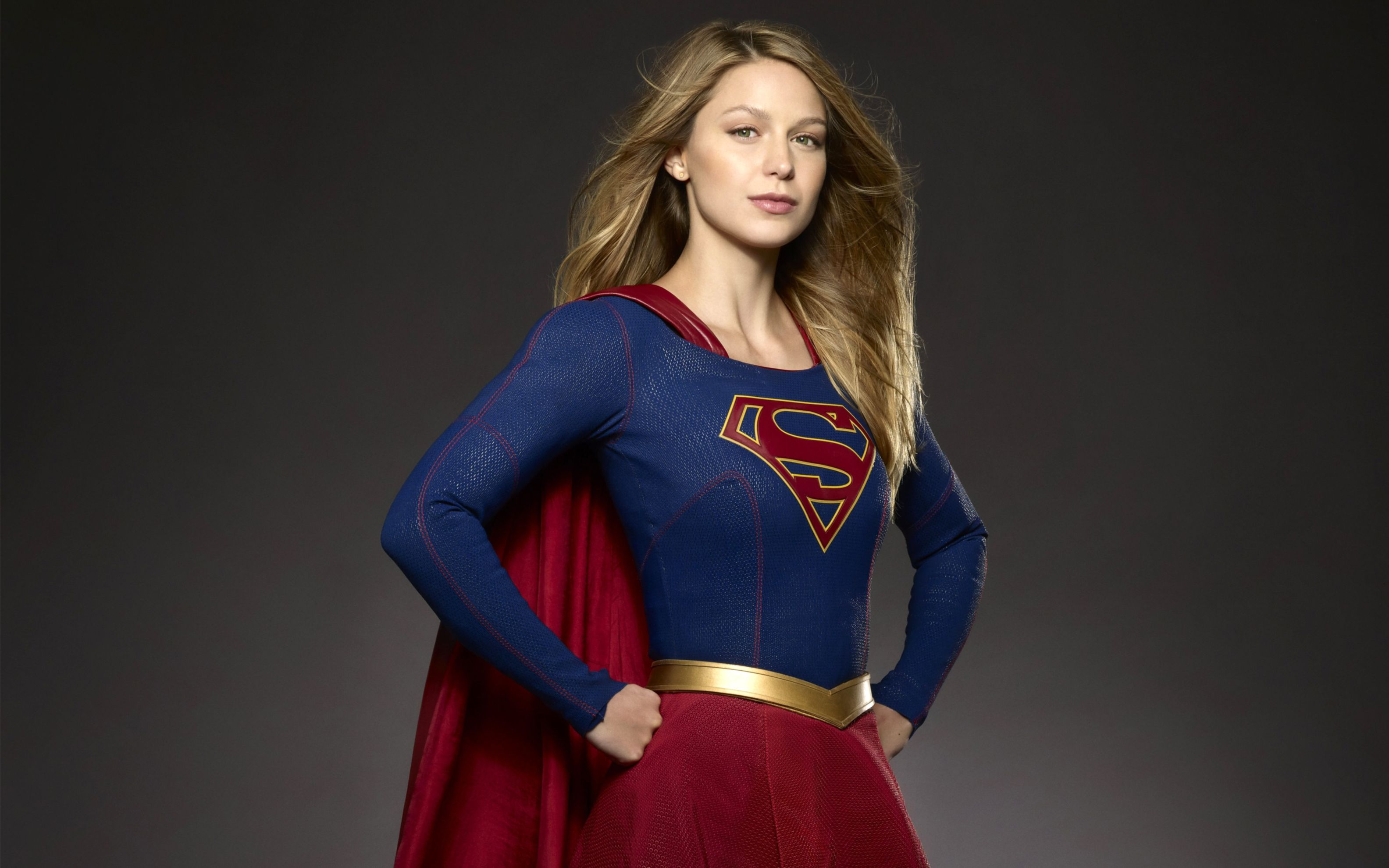 Download free HD Melissa Benoist Supergirl TV Series Wide Wallpaper, image