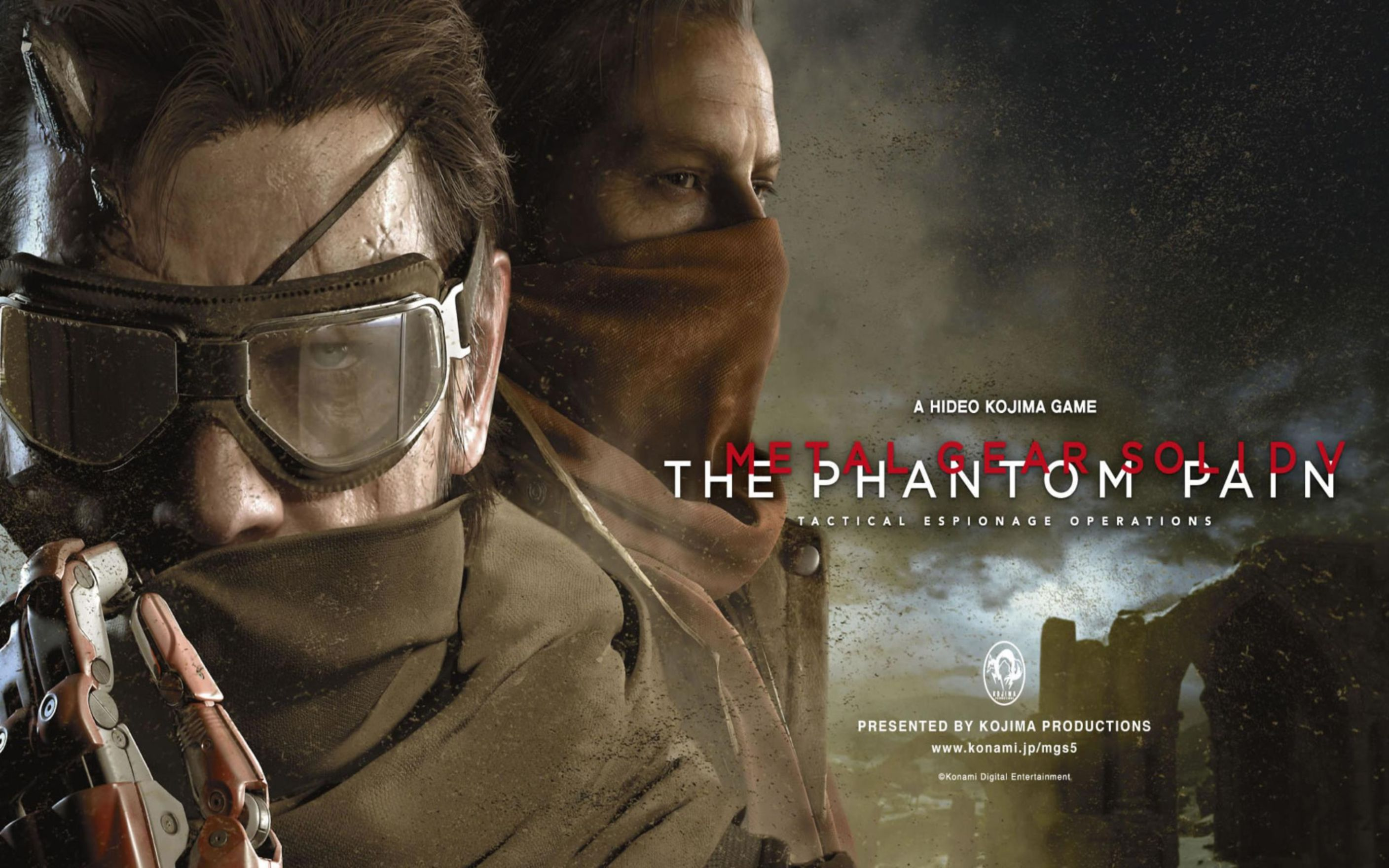 Download free HD Metal Gear Solid V The Phantom Pain Wallpaper, image