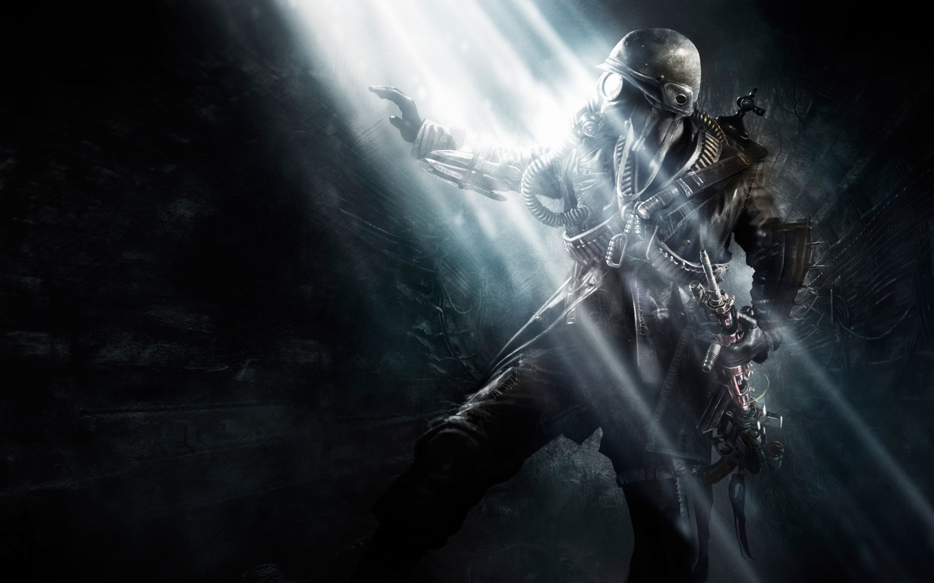 Download free HD Metro Last Game Art Wide Wallpaper, image