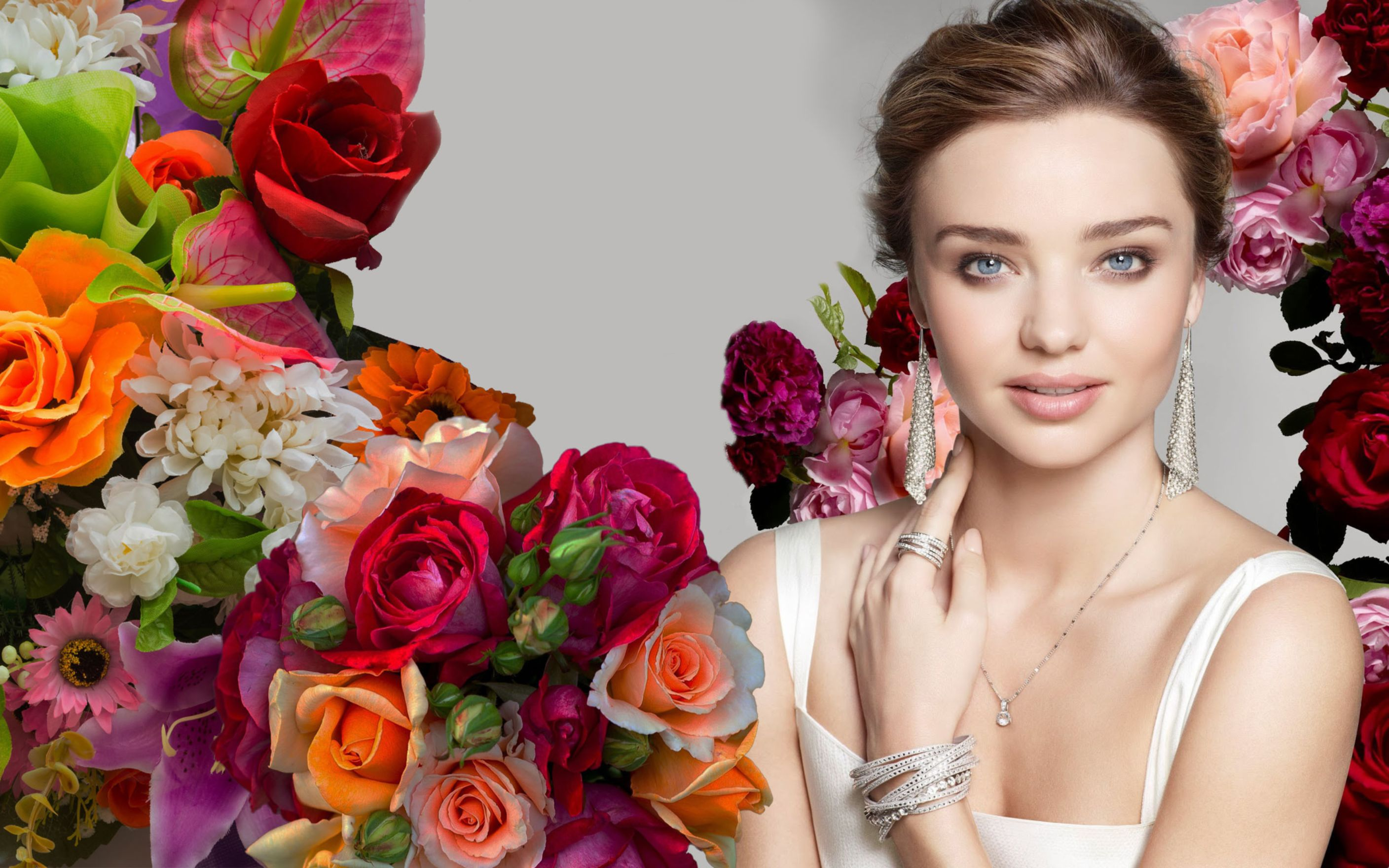 Download free HD Miranda Kerr 2015 Wide Wallpaper, image