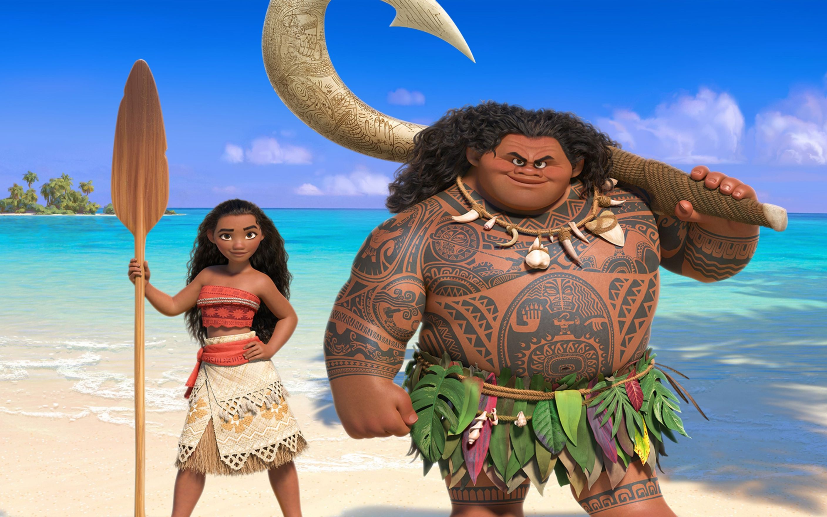Download free HD Moana 2016 Movie Wide Wallpaper, image