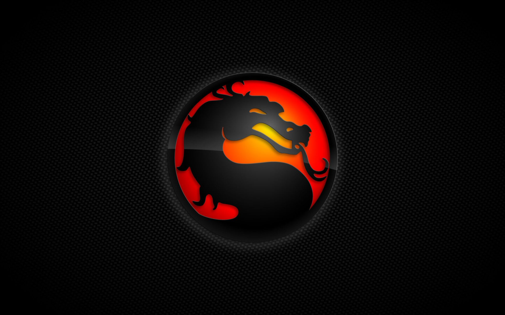 Download free HD Mortal Kombat Logo Wide Wallpaper, image