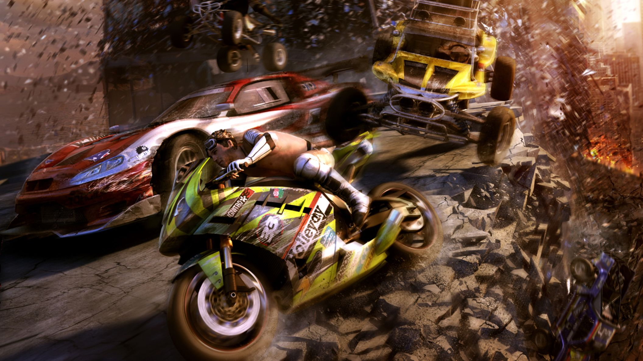 Download free HD Motorstorm Apocalypse HD Wallpaper, image