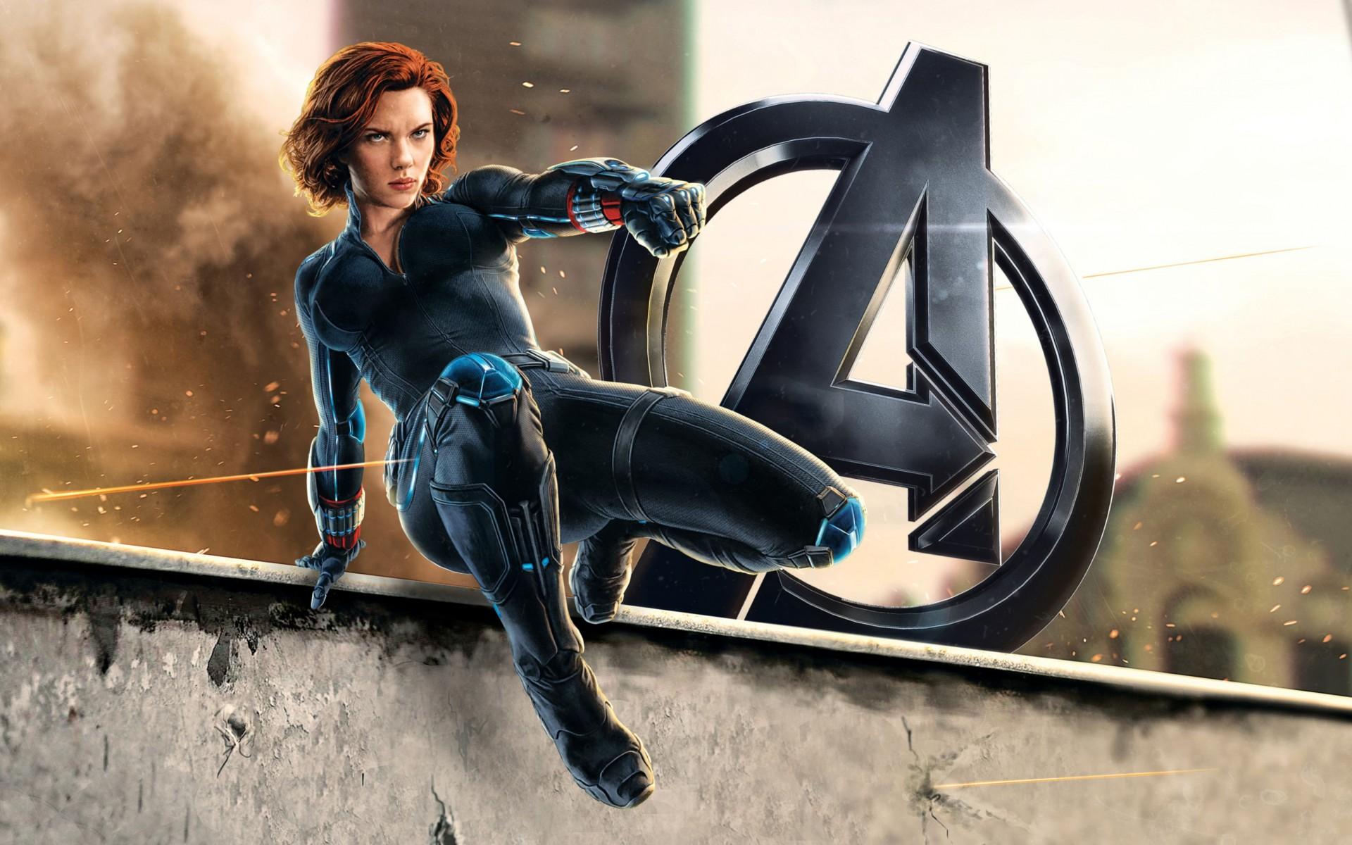 Natasha Romanoff Black Widow Wide Wallpaper