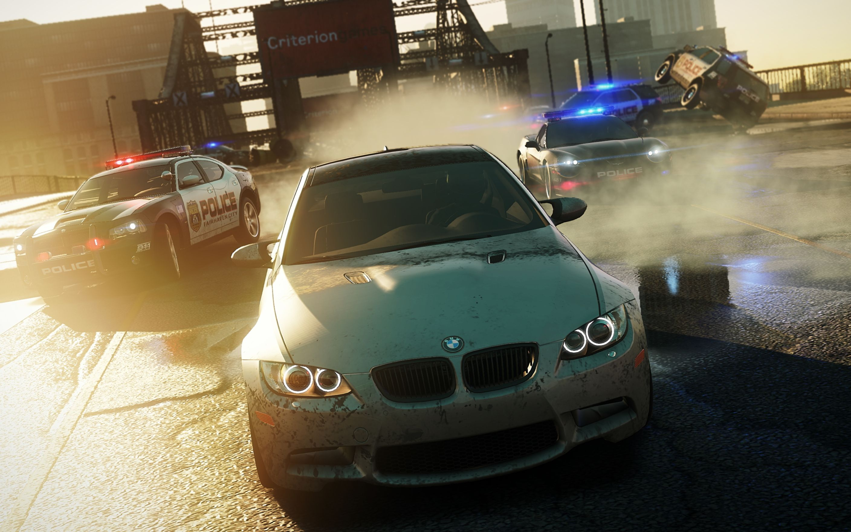 Download free HD Need For Speed Most Wanted 2012 Wide Wallpaper, image