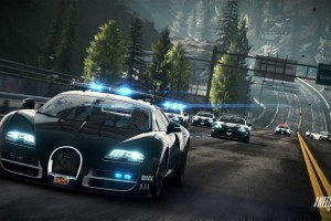 Need For Speed R IV als Bugatti Cop Car HD Wallpaper