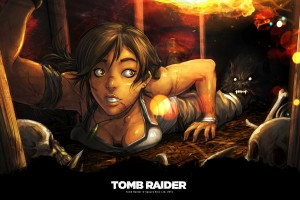 Download New Tomb Raider Art Wide Wallpaper Free Wallpaper on dailyhdwallpaper.com