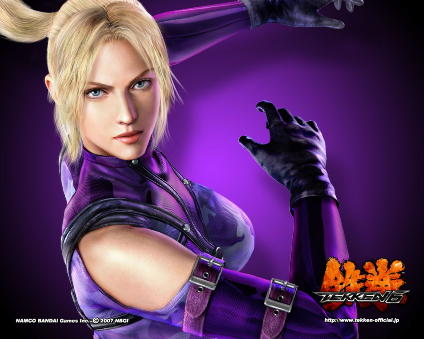 Download free HD Nina Tekken 6 Normal5.4 Wallpaper, image