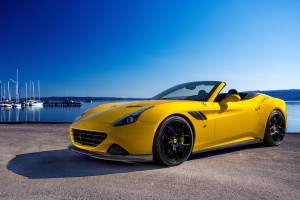 Novitec Rosso Ferrari California T Wide Wallpaper