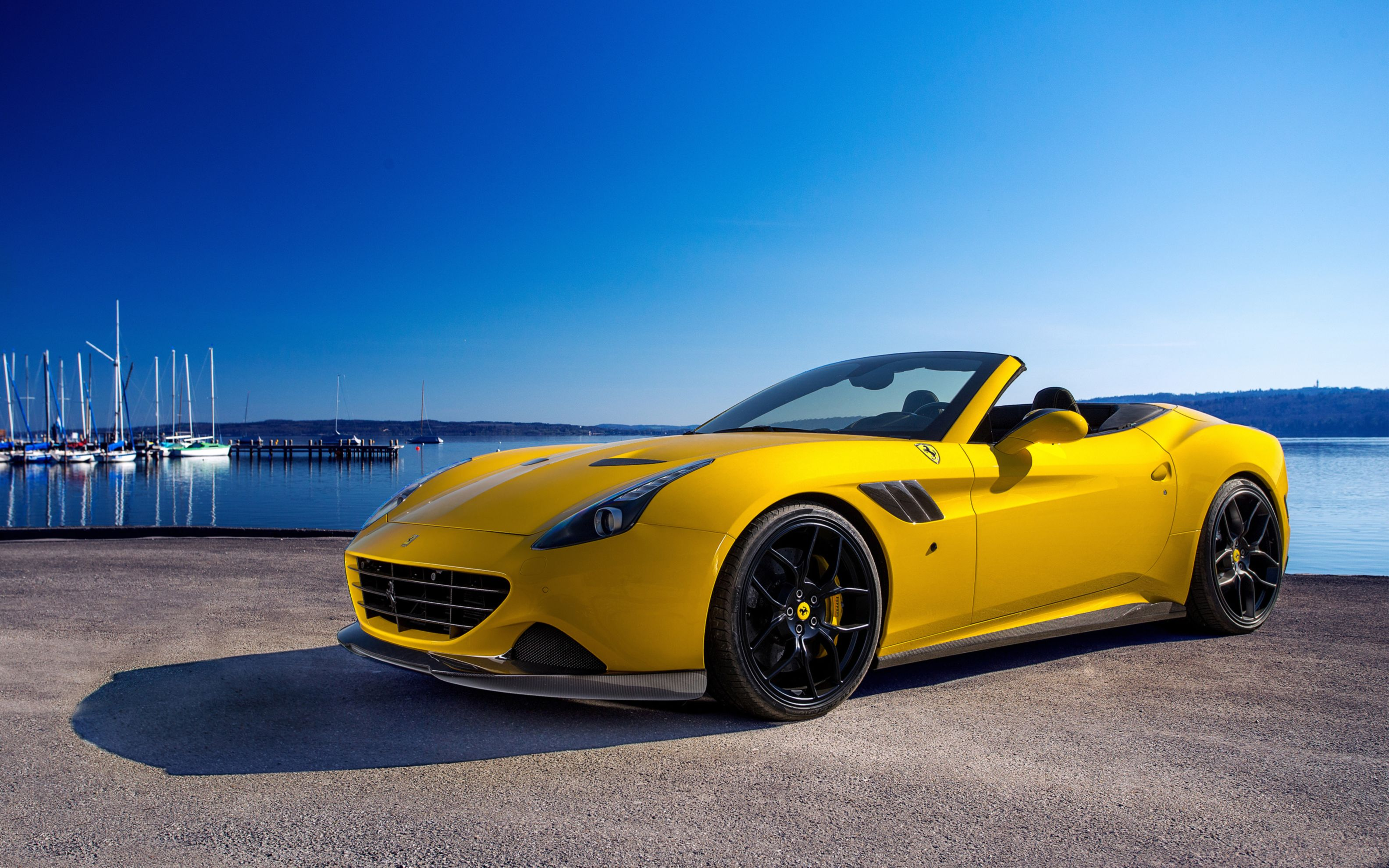 Download free HD Novitec Rosso Ferrari California T Wide Wallpaper, image