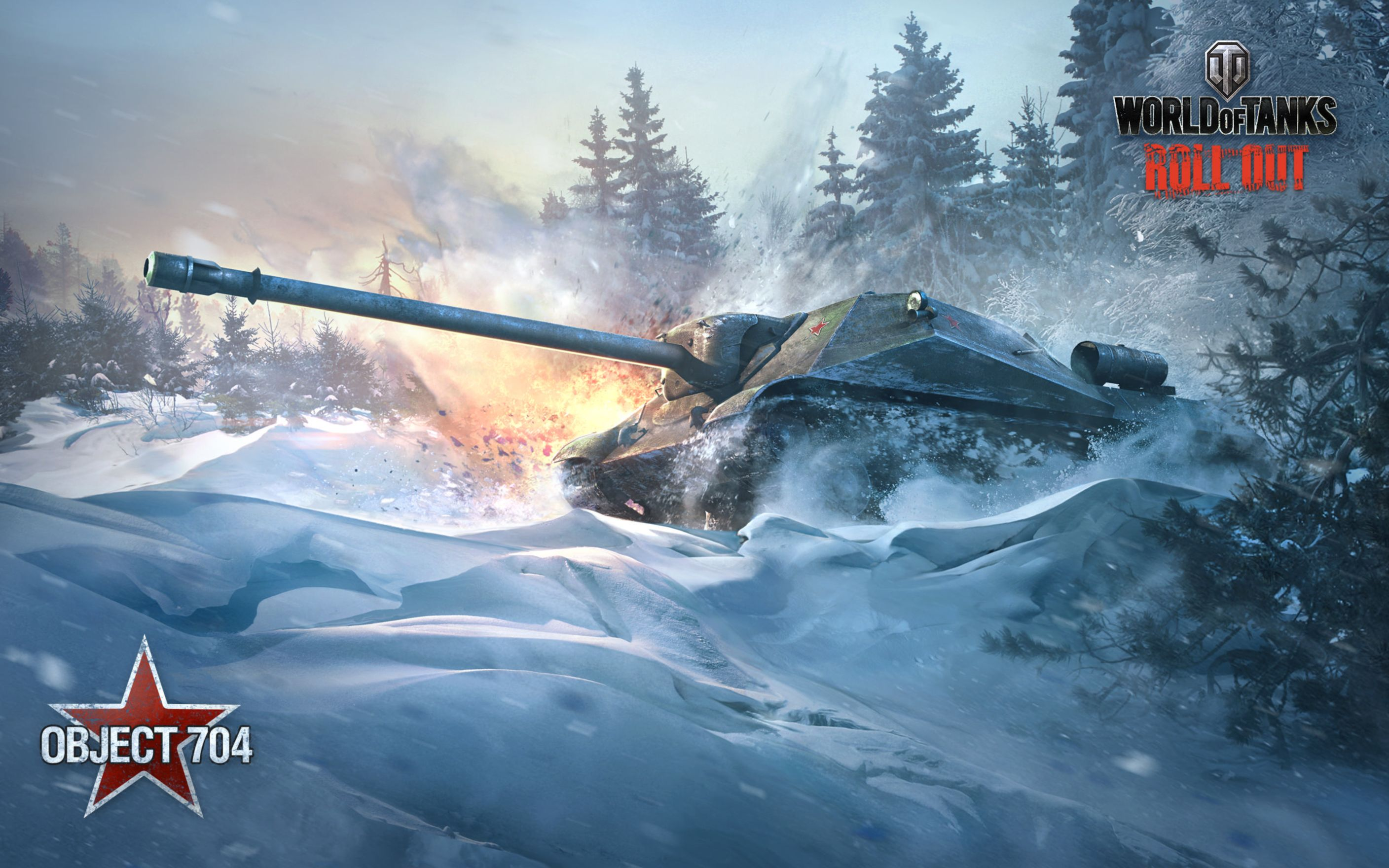 Download free HD Object 704 World of Tanks Wide Wallpaper, image