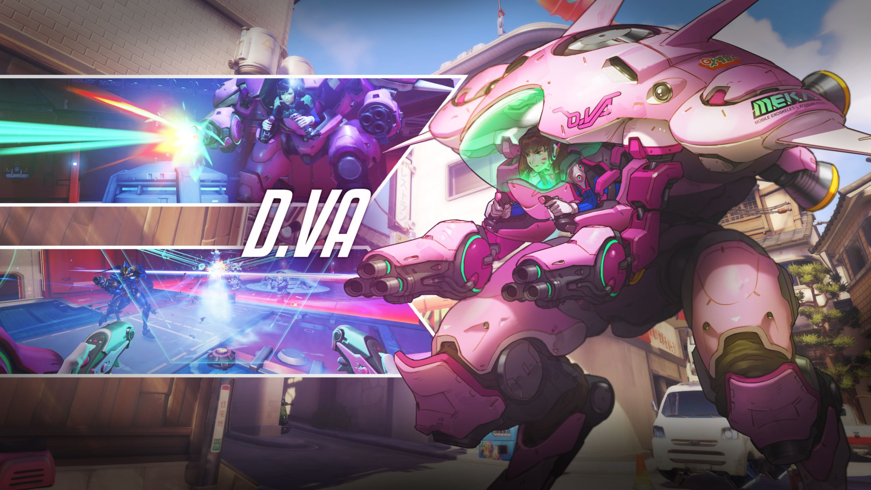 Download free HD Overwatch D Va HD Wallpaper, image