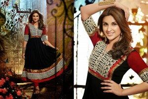 Download Parineeti Chopra Anarkali Wide Wallpaper Free Wallpaper on dailyhdwallpaper.com