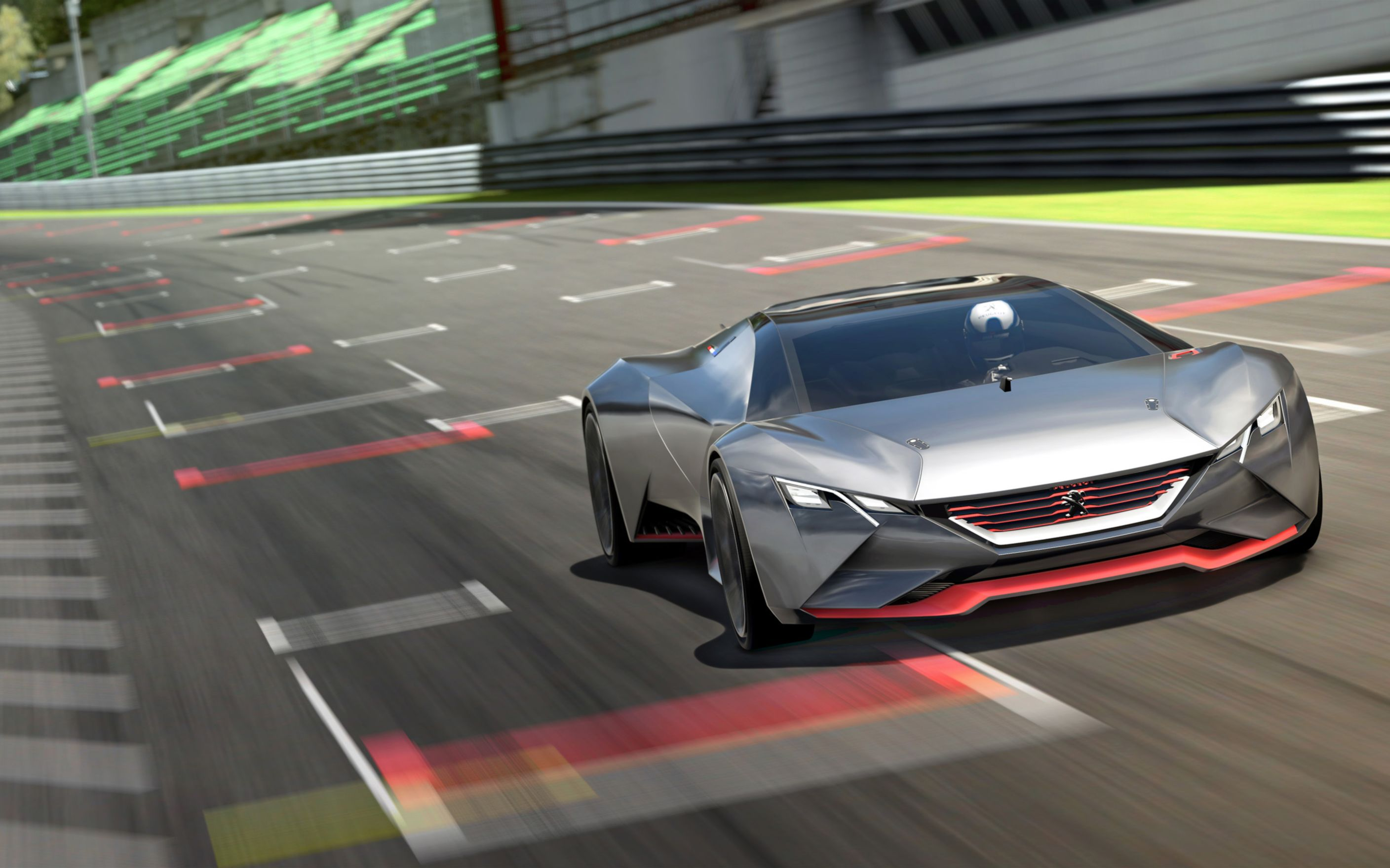 Download free HD Peugeot Vision Gran Turismo 2015 Wide Wallpaper, image