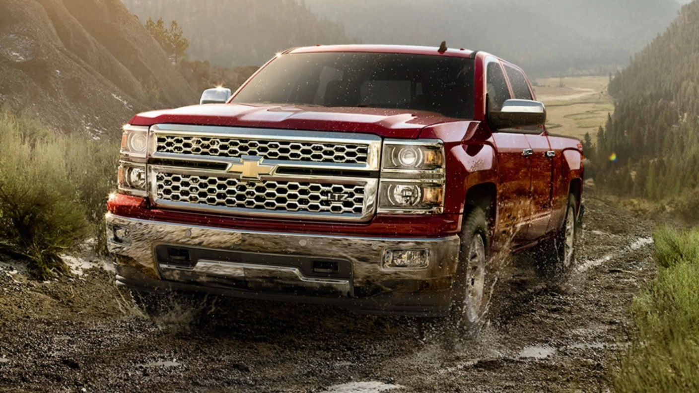 Download free HD Pickup Trucks Chevy 2014 Silverado Wallpaper, image