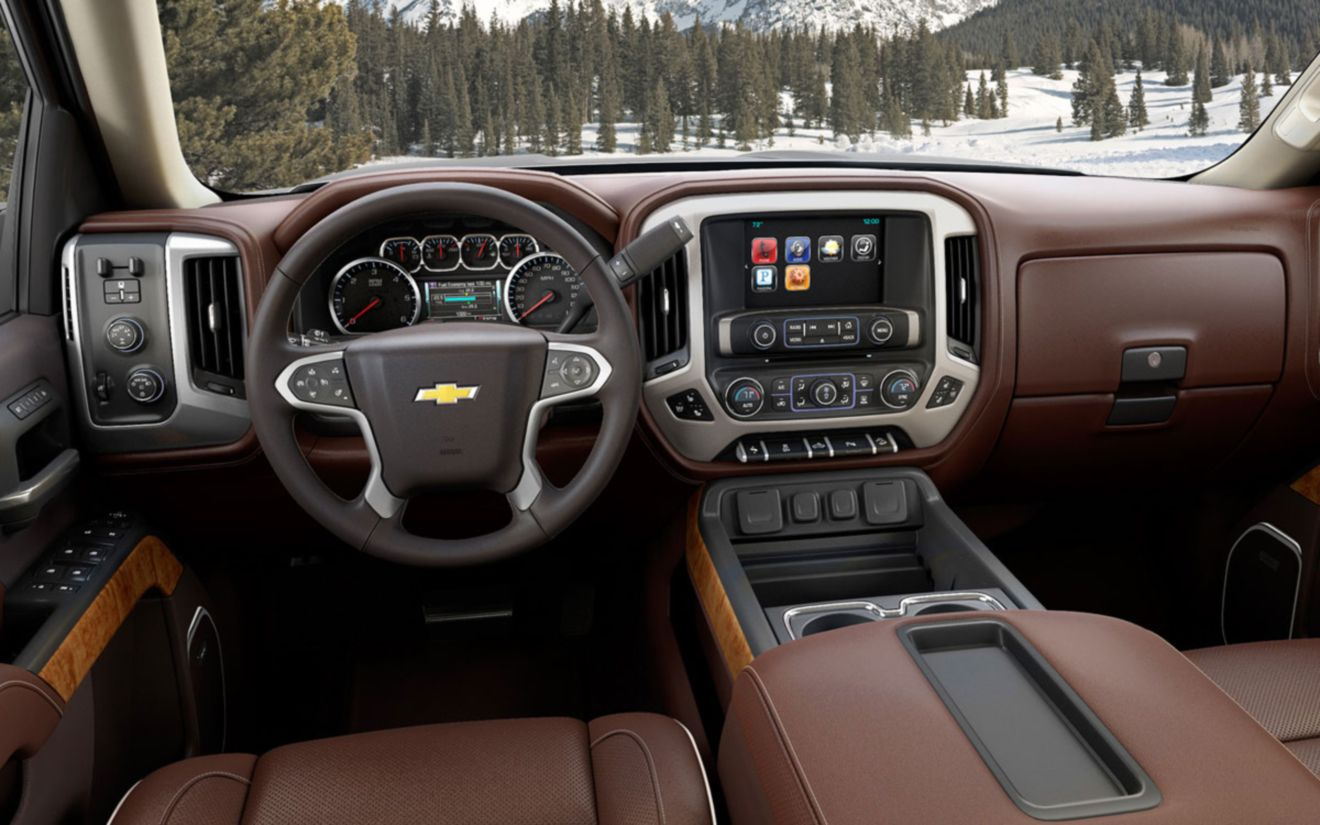 Download free HD Pickup Trucks Chevy Interior 2014 Wallpaper, image